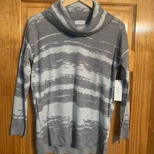 New Calvin Klein Sweater Cowl Neck
